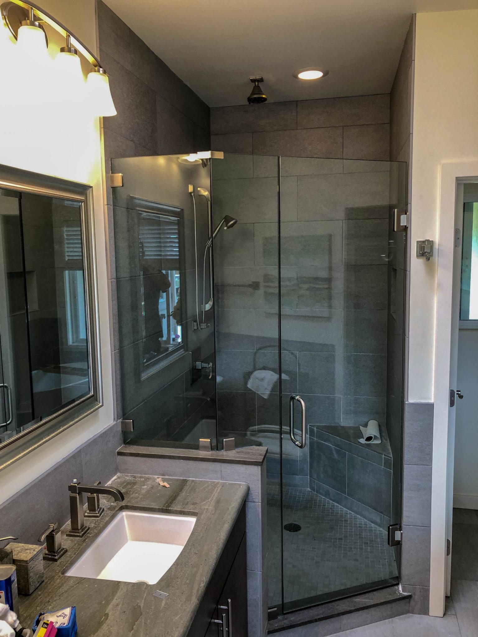 frameless glass shower enclosure 2 - kona glass hawaii