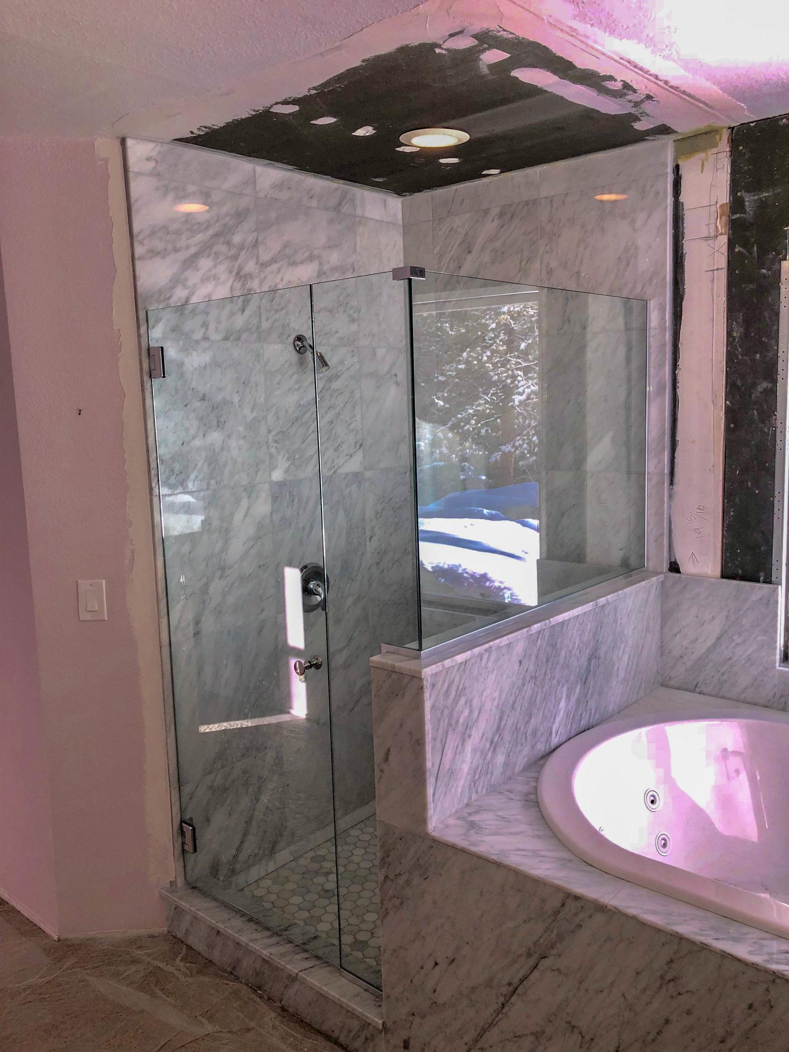 frameless glass shower enclosure 3 - kona glass hawaii