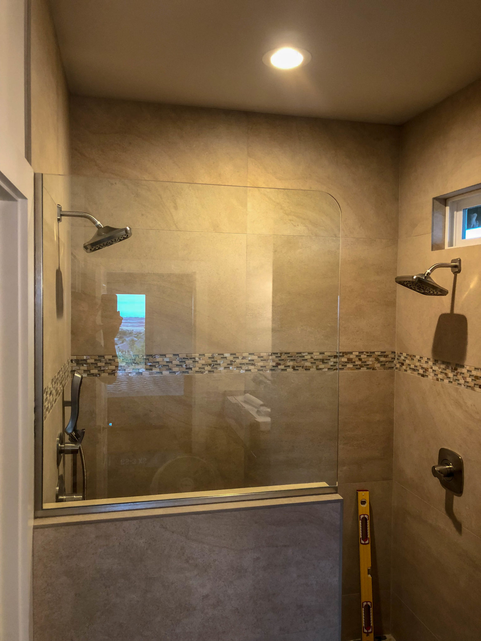 glass shower - kona glass hawaii