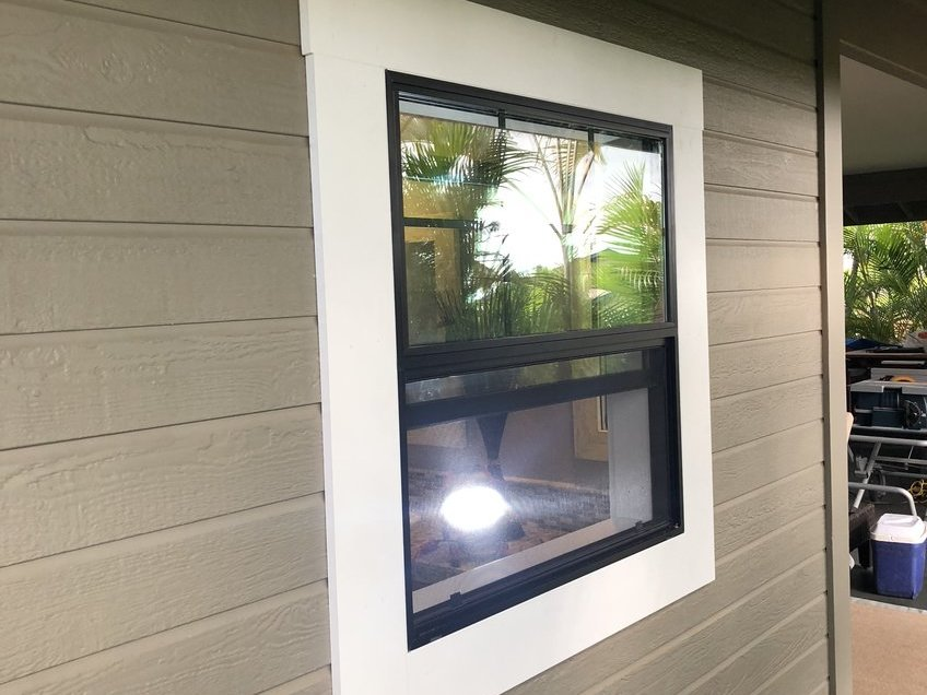 New Windows in Kona Hawaii