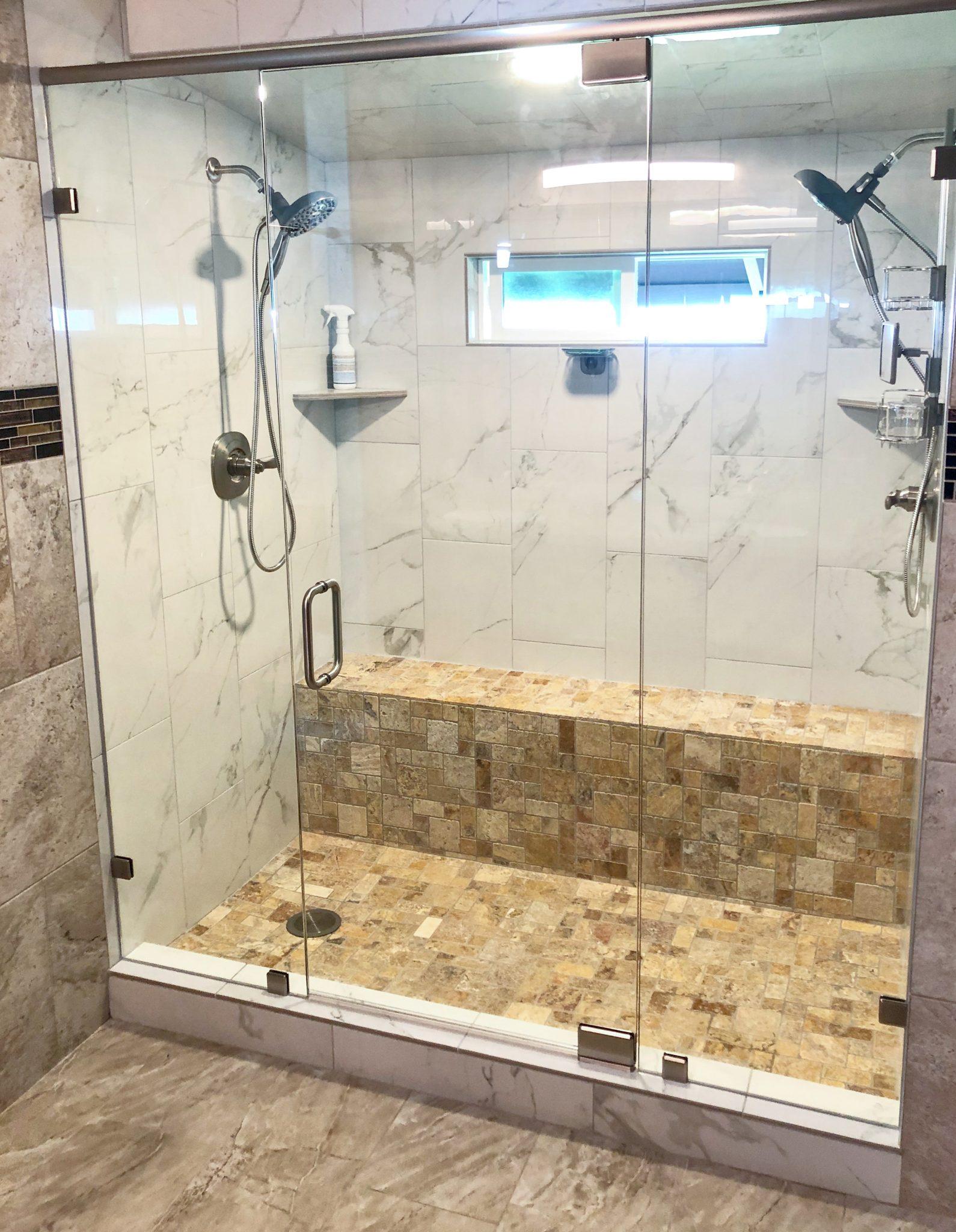 glass shower enclosure installation - kona glass hawaii (3)