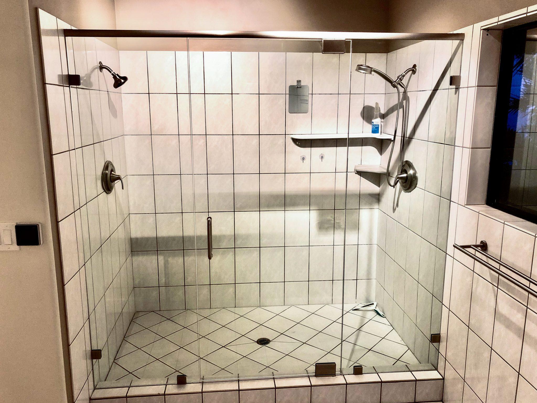 glass shower installation - kona glass hawaii (5)